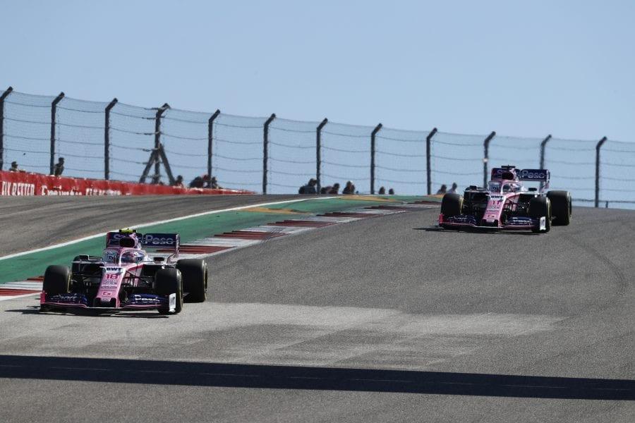 Sergio Pérez remonta desde el pitlane y acaba 10º