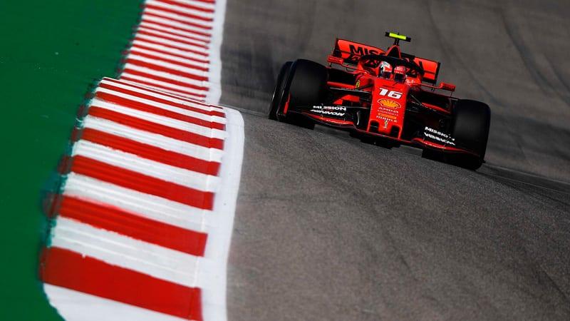 Leclerc apunta alto en Austin: