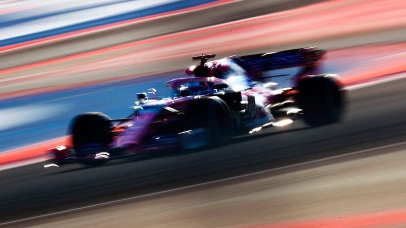 Viernes extraño en Racing Point: Stroll fue más rápido que Pérez
