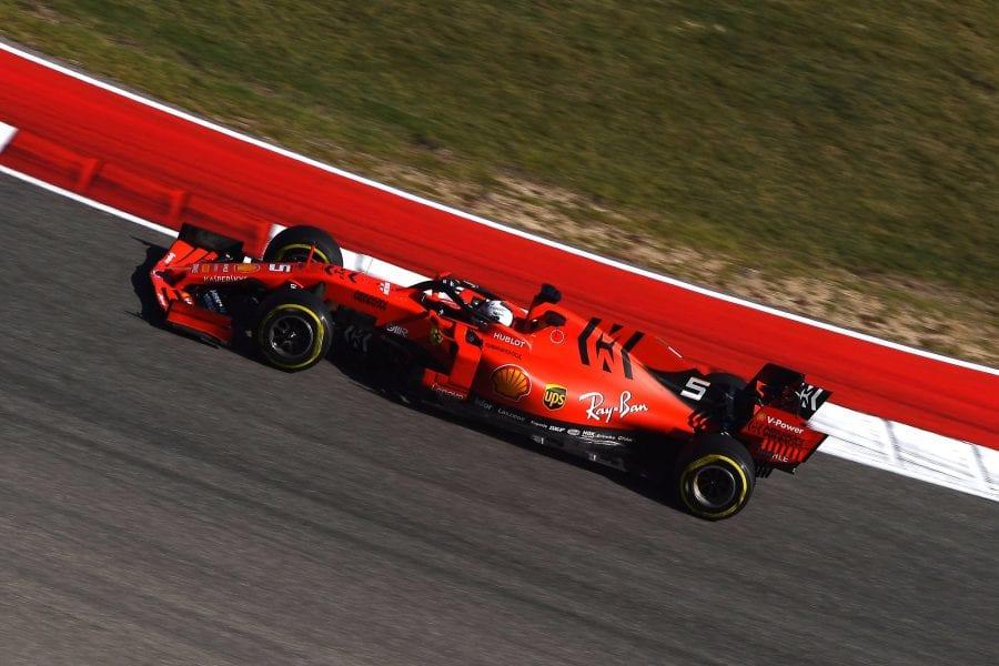 Ferrari celebró su particular Halloween ayer en Austin