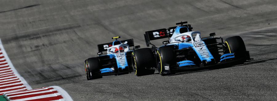 Russell (17º) delante de un Haas por segunda carrera consecutiva